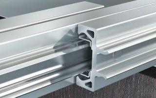 guide scorrevoli alluminio
